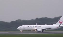 Yuusnoteさんが、岡山空港で撮影したJALエクスプレス 737-846の航空フォト(飛行機 写真・画像)