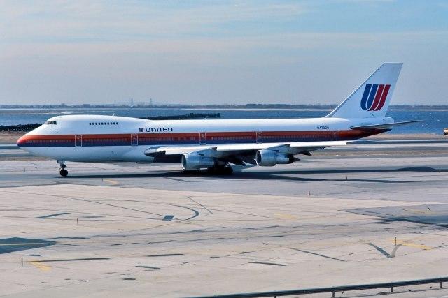 パール大山さんが、ジョン・F・ケネディ国際空港で撮影したユナイテッド航空 747-122の航空フォト(飛行機 写真・画像)