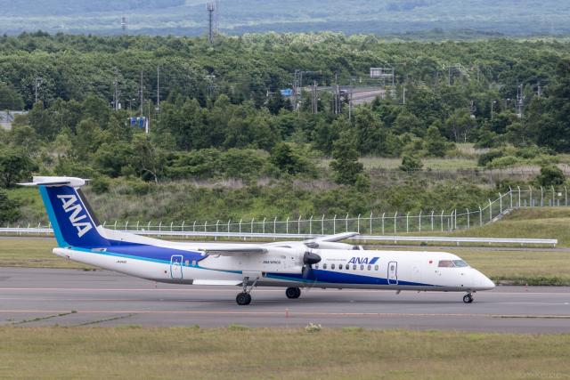 Y-Kenzoさんが、新千歳空港で撮影したANAウイングス DHC-8-402Q Dash 8の航空フォト(飛行機 写真・画像)