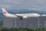 Y-Kenzoさんが、新千歳空港で撮影した日本航空 737-846の航空フォト(飛行機 写真・画像)