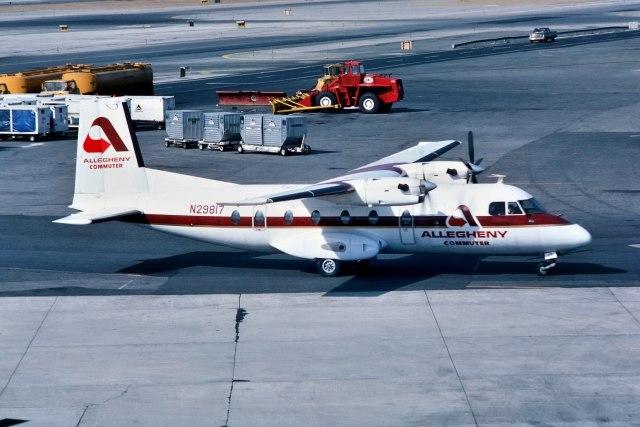 パール大山さんが、ジョン・F・ケネディ国際空港で撮影したRansome Airlines(Allegheny Commuter) N262Aの航空フォト(飛行機 写真・画像)