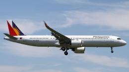 raichanさんが、成田国際空港で撮影したフィリピン航空 A321-271NXの航空フォト(飛行機 写真・画像)