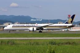 kan787allさんが、福岡空港で撮影したシンガポール航空 787-10の航空フォト(飛行機 写真・画像)