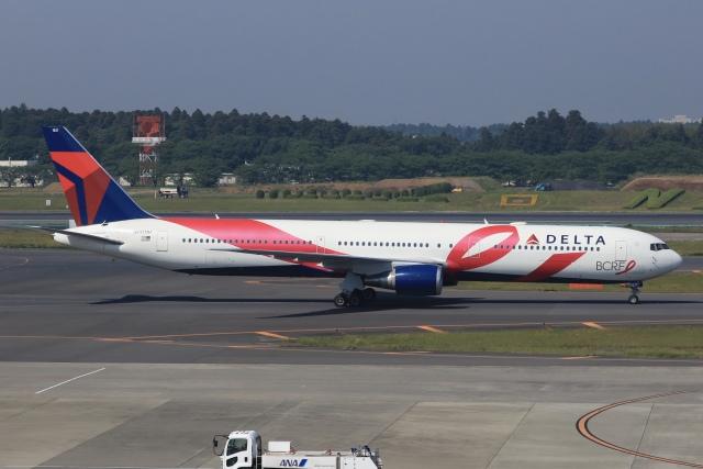 SIさんが、成田国際空港で撮影したデルタ航空 767-432/ERの航空フォト(飛行機 写真・画像)