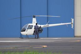 walker2000さんが、東京ヘリポートで撮影した日本フライトセーフティ R22 Betaの航空フォト(飛行機 写真・画像)