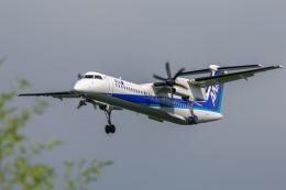 mameshibaさんが、成田国際空港で撮影したANAウイングス DHC-8-402Q Dash 8の航空フォト(飛行機 写真・画像)