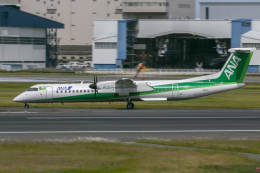 mameshibaさんが、伊丹空港で撮影したANAウイングス DHC-8-402Q Dash 8の航空フォト(飛行機 写真・画像)