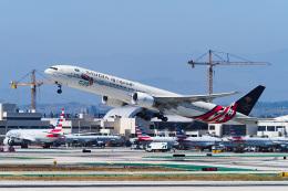 LAX Spotterさんが、ロサンゼルス国際空港で撮影したサウディア 777-368/ERの航空フォト(飛行機 写真・画像)