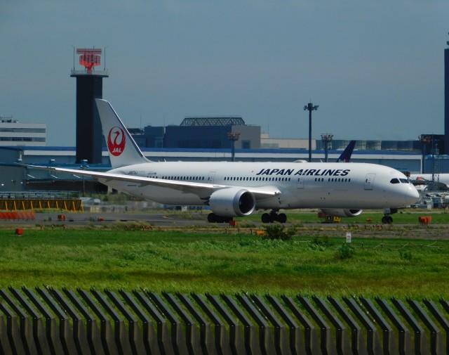 京成鐵@けいほんエアラインさんが、成田国際空港で撮影した日本航空 787-9の航空フォト(飛行機 写真・画像)