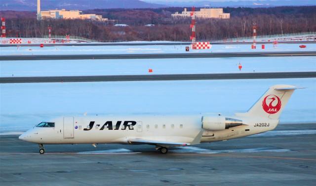 Rsaさんが、新千歳空港で撮影したジェイ・エア CL-600-2B19 Regional Jet CRJ-200ERの航空フォト(飛行機 写真・画像)