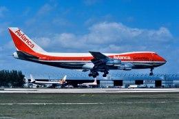 パール大山さんが、マイアミ国際空港で撮影したアビアンカ航空 747-259BMの航空フォト(飛行機 写真・画像)
