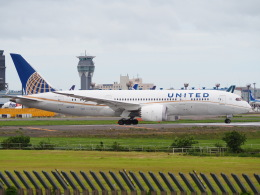hirohirokinさんが、成田国際空港で撮影したユナイテッド航空 787-8 Dreamlinerの航空フォト(飛行機 写真・画像)