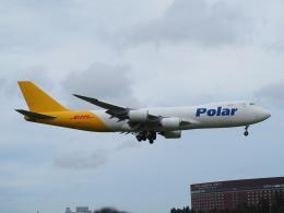 hirohirokinさんが、成田国際空港で撮影したポーラーエアカーゴ 747-87UF/SCDの航空フォト(飛行機 写真・画像)