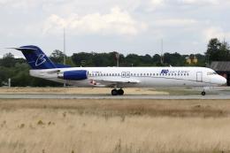 Hariboさんが、フランクフルト国際空港で撮影したブルーライン 100の航空フォト(飛行機 写真・画像)