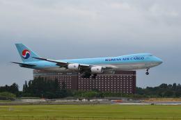 ポン太さんが、成田国際空港で撮影した大韓航空 747-8B5F/SCDの航空フォト(飛行機 写真・画像)