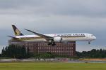 ポン太さんが、成田国際空港で撮影したシンガポール航空 787-10の航空フォト(飛行機 写真・画像)