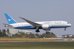 sky-spotterさんが、成田国際空港で撮影した厦門航空 787-8 Dreamlinerの航空フォト(飛行機 写真・画像)