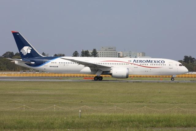 sky-spotterさんが、成田国際空港で撮影したアエロメヒコ航空 787-9の航空フォト(飛行機 写真・画像)