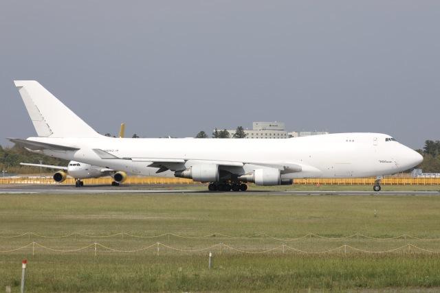 sky-spotterさんが、成田国際空港で撮影したアトラス航空 747-4KZF/SCDの航空フォト(飛行機 写真・画像)