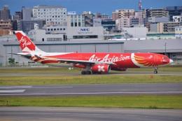 bachi51さんが、福岡空港で撮影したエアアジア・エックス A330-343Eの航空フォト(飛行機 写真・画像)