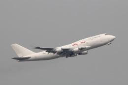 レンタくんさんが、香港国際空港で撮影したカリッタ エア 747-4B5(BCF)の航空フォト(飛行機 写真・画像)