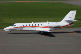 TIA spotterさんが、札幌飛行場で撮影した朝日航洋 680 Citation Sovereignの航空フォト(飛行機 写真・画像)