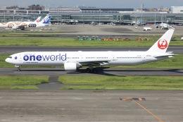 sky-spotterさんが、羽田空港で撮影した日本航空 777-346の航空フォト(飛行機 写真・画像)