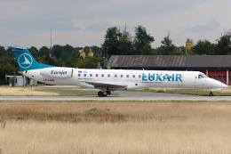 Hariboさんが、フランクフルト国際空港で撮影したルクスエア ERJ-145LUの航空フォト(飛行機 写真・画像)