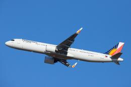 SGR RT 改さんが、成田国際空港で撮影したフィリピン航空 A321-271NXの航空フォト(飛行機 写真・画像)