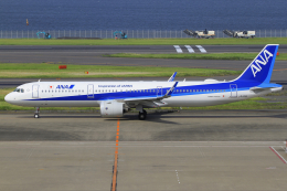 とらとらさんが、羽田空港で撮影した全日空 A321-272Nの航空フォト(飛行機 写真・画像)