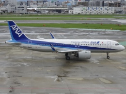 Blue605Aさんが、福岡空港で撮影した全日空 A320-271Nの航空フォト(飛行機 写真・画像)