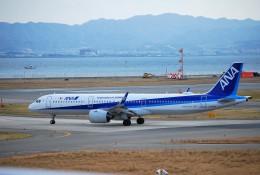 リュウキさんが、関西国際空港で撮影した全日空 A321-272Nの航空フォト(飛行機 写真・画像)