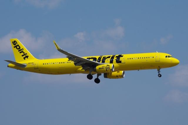 zettaishinさんが、ダラス・フォートワース国際空港で撮影したスピリット航空 A321-231の航空フォト(飛行機 写真・画像)