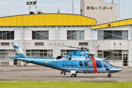 ブルーさんさんが、群馬ヘリポートで撮影した群馬県警察 A109E Powerの航空フォト(飛行機 写真・画像)