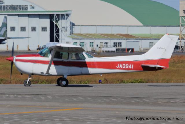 いおりさんが、名古屋飛行場で撮影した富士航空 172P Skyhawkの航空フォト(飛行機 写真・画像)