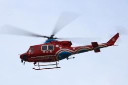 Zakiyamaさんが、熊本空港で撮影した岡山県消防防災航空隊 412EPの航空フォト(飛行機 写真・画像)