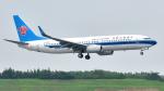 saoya_saodakeさんが、成田国際空港で撮影した中国南方航空 737-81Bの航空フォト(飛行機 写真・画像)