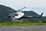Gambardierさんが、岡南飛行場で撮影した日本法人所有 AS350B Ecureuilの航空フォト(飛行機 写真・画像)