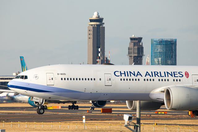 SGR RT 改さんが、成田国際空港で撮影したチャイナエアライン 777-36N/ERの航空フォト(飛行機 写真・画像)
