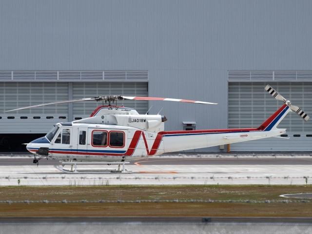 FT51ANさんが、奈多ヘリポートで撮影した西日本空輸 412EPの航空フォト(飛行機 写真・画像)