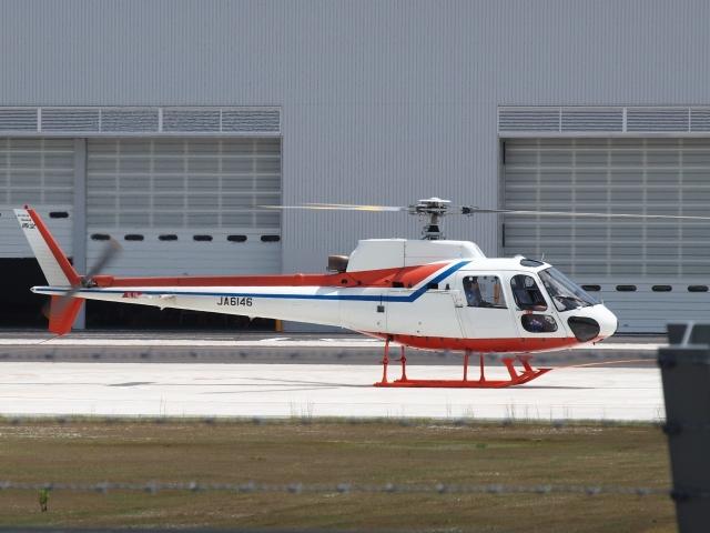 FT51ANさんが、奈多ヘリポートで撮影した西日本空輸 AS350BA Ecureuilの航空フォト(飛行機 写真・画像)