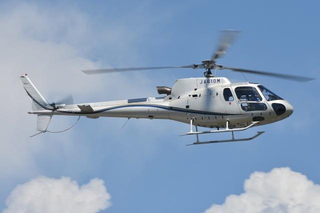 ブルーさんさんが、東京ヘリポートで撮影した日本法人所有 AS350B3 Ecureuilの航空フォト(飛行機 写真・画像)