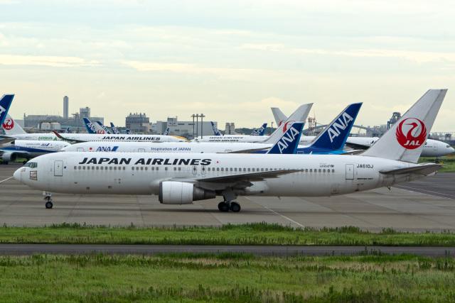 tkosadaさんが、羽田空港で撮影した日本航空 767-346/ERの航空フォト(飛行機 写真・画像)