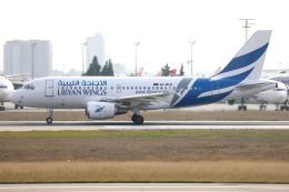 TIA spotterさんが、アタテュルク国際空港で撮影したリビアン・ウィングス A319-112の航空フォト(飛行機 写真・画像)