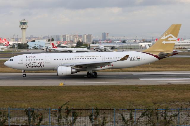 TIA spotterさんが、アタテュルク国際空港で撮影したリビア航空 A330-202の航空フォト(飛行機 写真・画像)