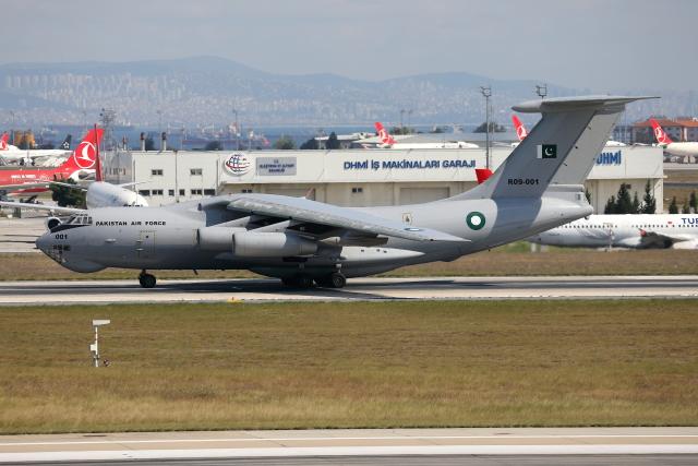 TIA spotterさんが、アタテュルク国際空港で撮影したパキスタン空軍 Il-78Mの航空フォト(飛行機 写真・画像)