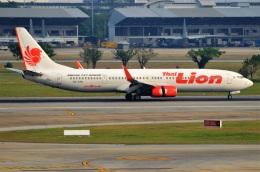 amagoさんが、ドンムアン空港で撮影したタイ・ライオン・エア 737-9GP/ERの航空フォト(飛行機 写真・画像)
