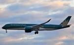 鉄バスさんが、成田国際空港で撮影したベトナム航空 A350-941の航空フォト(飛行機 写真・画像)