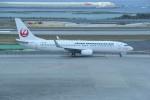 kumagorouさんが、那覇空港で撮影した日本トランスオーシャン航空 737-8Q3の航空フォト(飛行機 写真・画像)
