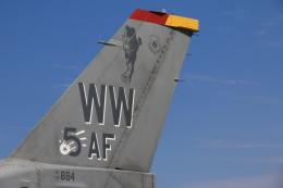 F-4さんが、横田基地で撮影したアメリカ空軍 F-16CM-50-CF Fighting Falconの航空フォト(飛行機 写真・画像)